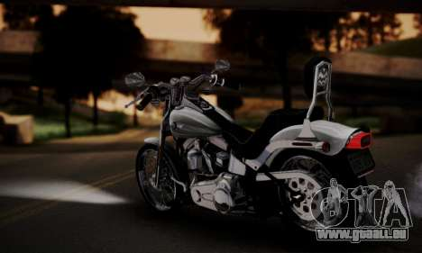 Harley-Davidson FXSTS Springer Softail pour GTA San Andreas laissé vue