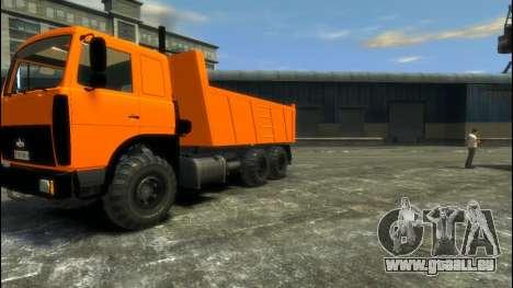 MAZ-6317 für GTA 4 linke Ansicht
