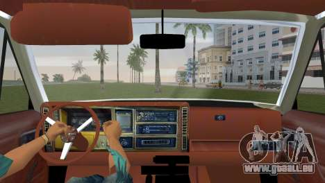 Jeep Cherokee v1.0 BETA pour GTA Vice City sur la vue arrière gauche