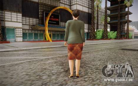 Femme âgée pour GTA San Andreas deuxième écran