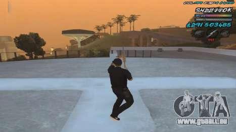 C-HUD by ShnoorOK pour GTA San Andreas