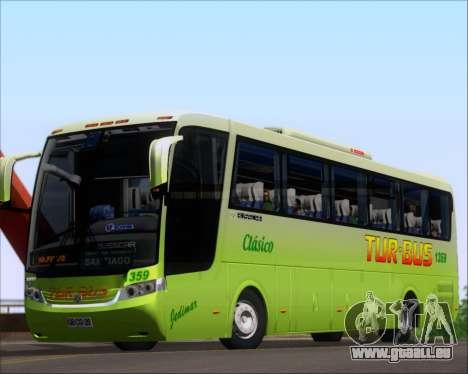 Busscar Vissta LO Scania K310 - Tur Bus für GTA San Andreas linke Ansicht
