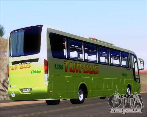 Busscar Vissta LO Scania K310 - Tur Bus für GTA San Andreas rechten Ansicht