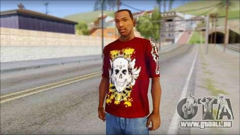 Skull T-Shirt für GTA San Andreas