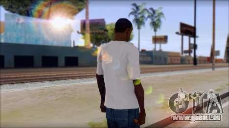 Axl Rose T-Shirt Mod pour GTA San Andreas deuxième écran