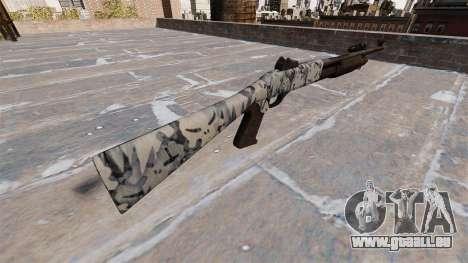 Ружье Benelli M3 Super 90 crânes pour GTA 4 secondes d'écran