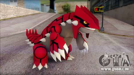 Groudon Pokemon pour GTA San Andreas