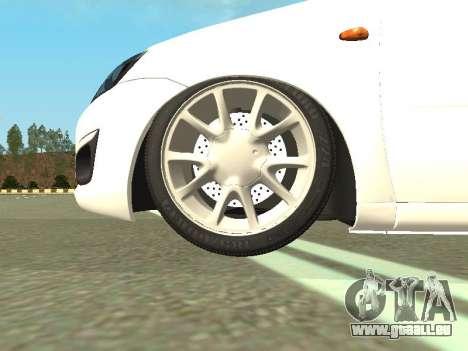 Lada Kalina 2 für GTA San Andreas Innenansicht