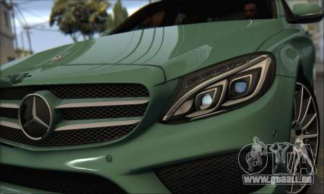 Mercedes-Benz C250 V1.0 2014 für GTA San Andreas linke Ansicht