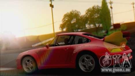 Porsche 911 GT2 (993) 1995 V1.0 EU Plate für GTA San Andreas rechten Ansicht