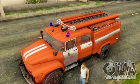 ZIL 130 AC-40 für GTA San Andreas Rückansicht