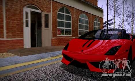 ENBSeries for low PC v2 fix pour GTA San Andreas troisième écran