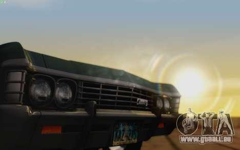 Graphical shell for SA pour GTA San Andreas quatrième écran