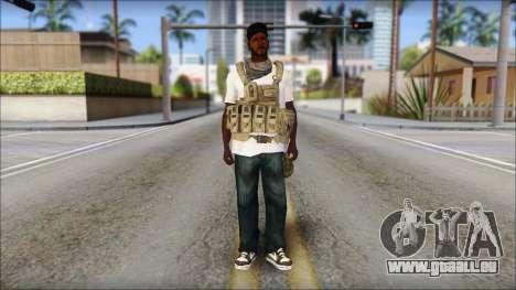 Sweet Mercenario pour GTA San Andreas deuxième écran