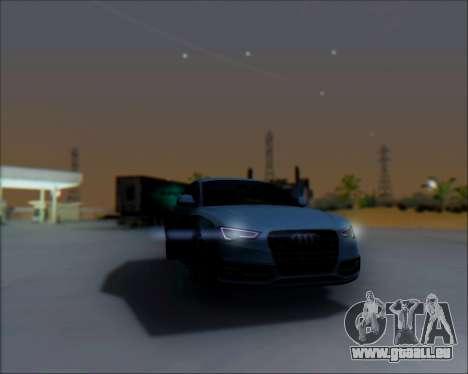 Audi A7 pour GTA San Andreas vue de droite