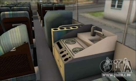 Setra S215 HD pour GTA San Andreas vue intérieure
