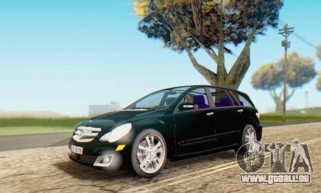 Mercedes-Benz R350 pour GTA San Andreas salon