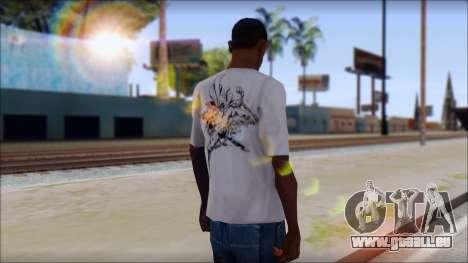 Superman T-Shirt pour GTA San Andreas deuxième écran