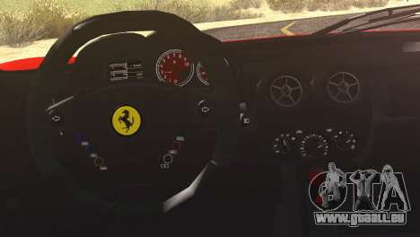 Ferrari Enzo 2002 pour GTA San Andreas vue de côté