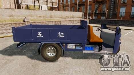 Agrar-Dreirad für GTA 4 linke Ansicht