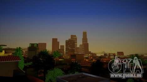 ENBSeries pour un PC puissant pour GTA San Andreas quatrième écran