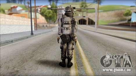 New Los Santos SWAT Beta HD pour GTA San Andreas deuxième écran