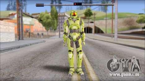 Masterchief Green from Halo für GTA San Andreas zweiten Screenshot