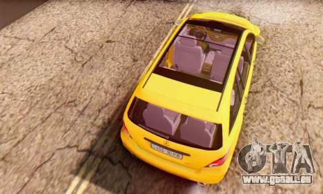 Mercedes-Benz R350 pour GTA San Andreas vue de côté