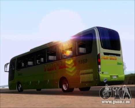 Busscar Vissta LO Scania K310 - Tur Bus für GTA San Andreas zurück linke Ansicht