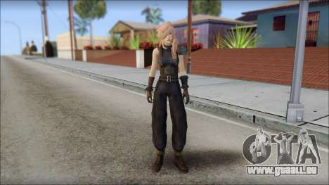 Final Fantasy XIII - Lightning Lowpoly für GTA San Andreas