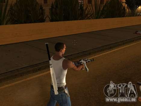 AK47 from CS:GO pour GTA San Andreas quatrième écran