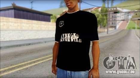 A7X New T-Shirt für GTA San Andreas