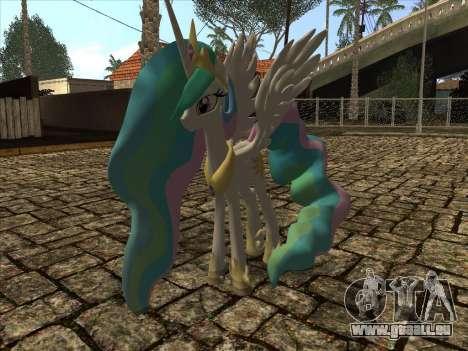 Princess Celestia für GTA San Andreas