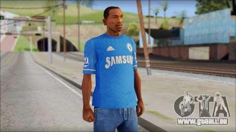 Chelsea FC 12-13 Home Jersey für GTA San Andreas