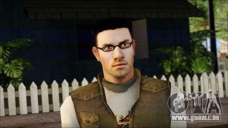 Jamie pour GTA San Andreas troisième écran