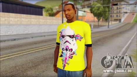 Star Wars Clone T-Shirt pour GTA San Andreas