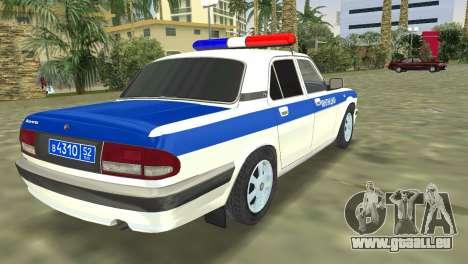 GAZ 31105 Wolga-DPS für GTA Vice City linke Ansicht