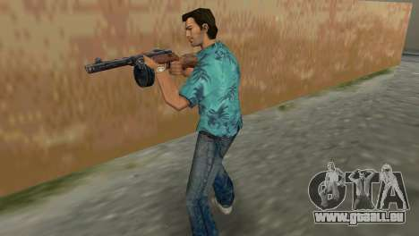 Pistolet Mitrailleur Shpagina GTA Vice City pour la deuxième capture d'écran
