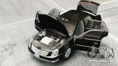 Cadillac DTS 2006 v1.0 pour GTA 4 Vue arrière de la gauche