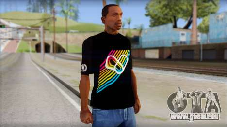 I Love Electro T-Shirt pour GTA San Andreas