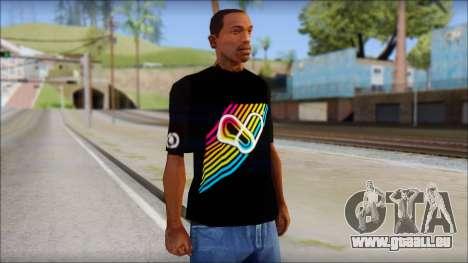 I Love Electro T-Shirt für GTA San Andreas