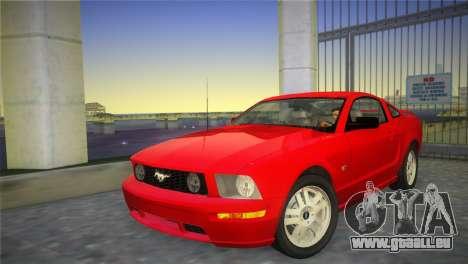 Ford Mustang GT 2005 für GTA Vice City