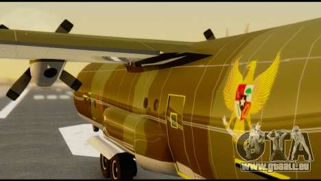 C-130 Hercules Indonesia Air Force für GTA San Andreas Innenansicht