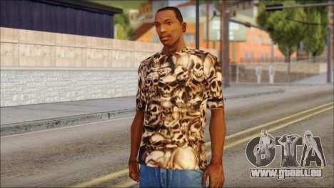 Skulls Shirt pour GTA San Andreas