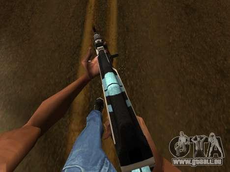 AK47 from CS:GO pour GTA San Andreas troisième écran