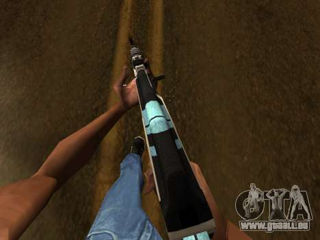 AK47 from CS:GO für GTA San Andreas dritten Screenshot