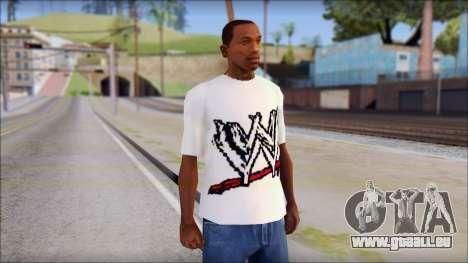 WWE Logo T-Shirt mod v1 pour GTA San Andreas
