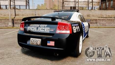 Dodge Charger SRT8 2010 [ELS] für GTA 4 hinten links Ansicht