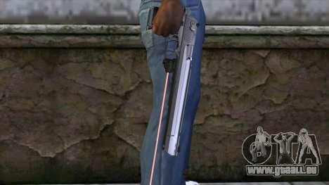 Desert Eagle avec visée laser pour GTA San Andreas troisième écran