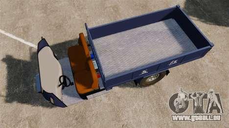 Agrar-Dreirad für GTA 4 rechte Ansicht